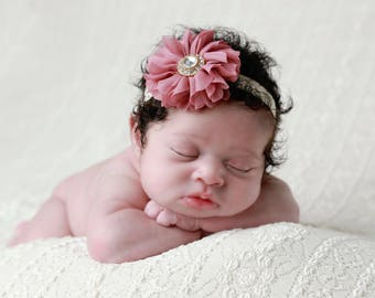 On Sale... Only 5 dollars, flower headband, by Lil Miss Sweet Pea