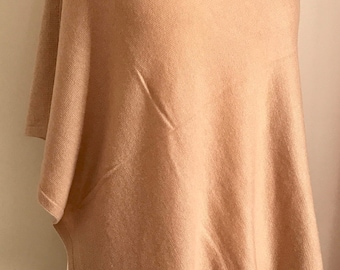 20%OFF Sale Cashmere Poncho/ Free shipping/Limited Edition
