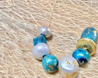 Handmade necklace, gift for her, handmade jewellery