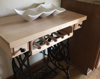 WINE RACK TABLE-Shipping extra