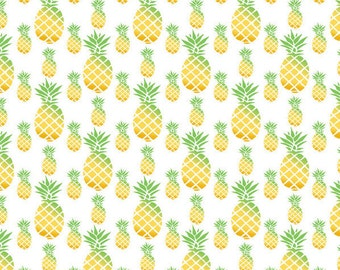 Holidays Gift, Wrapping Paper, Pineapple