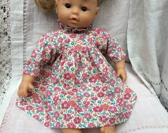 dress Liberty Clarisse corduroy doll 42 cm