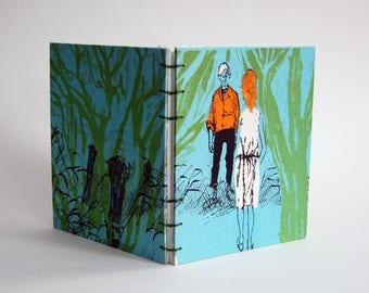 Blank Book - Notebook - Sketchbook - Vintage Dust Jacket