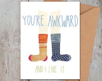 Awkward Card