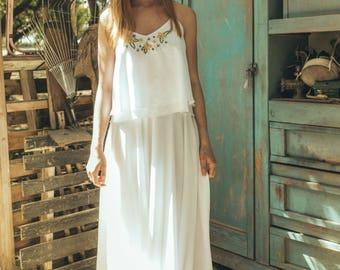 African wedding dress, Sequin wedding dress, Art deco wedding dress, Ethereal wedding dress, Art deco wedding gown, hibiscus blossom calla