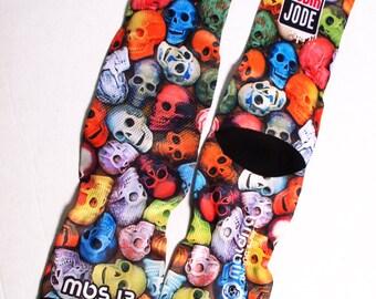 MBS Socks 13 Skulls colors
