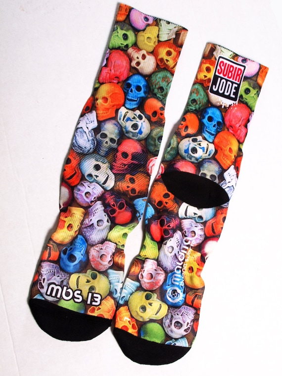 MBS Socks 13 Skulls colors