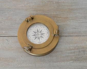 Brass Porthole, Porthole, Nautical Decor, Coastal Decor, Coastal Office, Nautical Office, Nautical Wedding, Marine Porthole, Maritime Decor