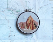 Temple of the Sun and Moon, Capitol Reef National Park - 4 inch