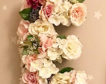 Floral Letter Decoration