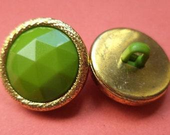 7 BUTTONS green 13mm 16mm 20mm (5151 5152 5153) button
