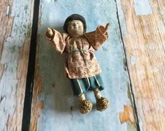 Vintage handmade Russian doll