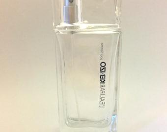 """Vintage Woman Eau de Toilette """"Kenzo"""" 50 ml 1.7 oz Glass Bottle Paris France"""