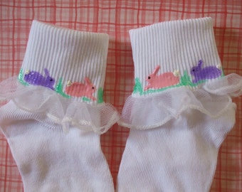 Easter Personalized Painted Socks Toddler Size