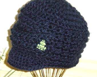 Toddler Boys Newsboy Beanie Crochet