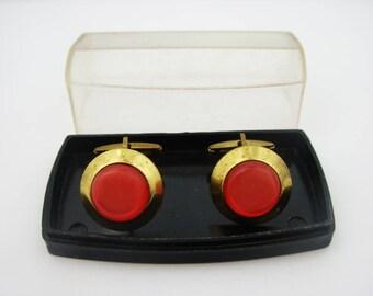 Cuff Links Vintage cufflinks vintage Jewelry For men  Soviet Groomsmen gift