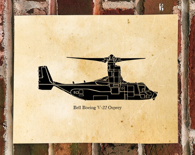 KillerBeeMoto: Bell Boeing V-22 Osprey Limited Print