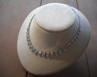 KRAMER Rhinestone Necklace Item W-#376