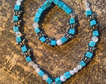 Real Turquoise Set