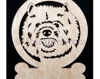 Cairn Terrier Ornament-Cairn Terrier Gift-Free Personalization