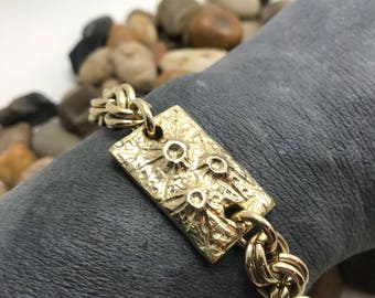 Crater Tablet Bracelet