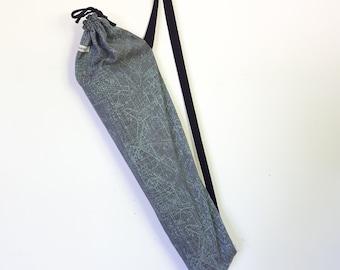 Yoga Bag, Yoga Mat Bag, Yoga Mat Carrier, Upcycled Yoga Mat Bag, Yoga Mat Cover
