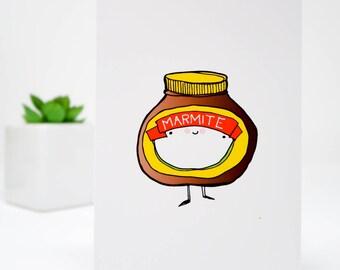 Marmite card.