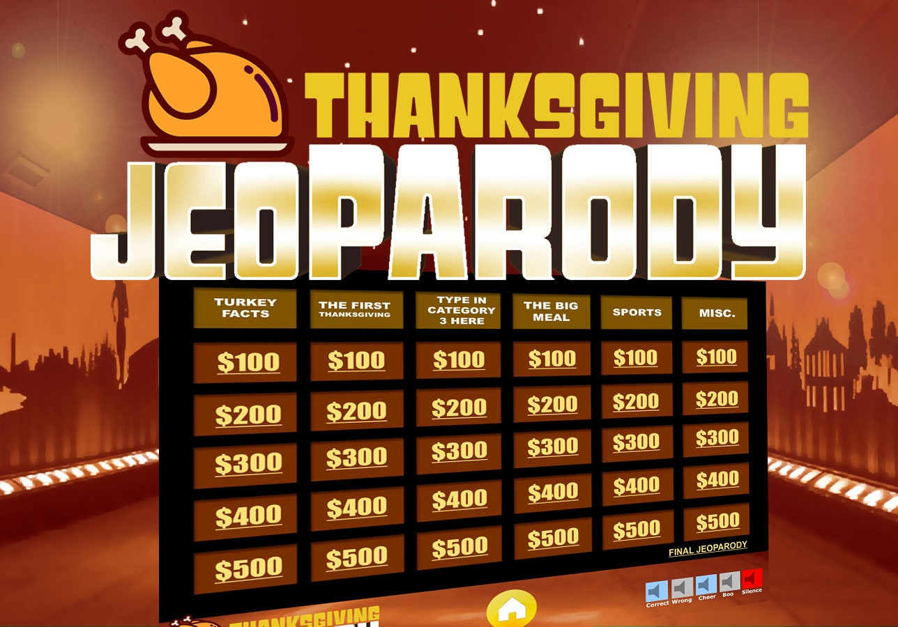 Thanksgiving jeopardy trivia powerpoint game mac and pc zoom alramifo Choice Image