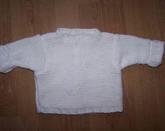 Handmade newborn baby wrap over
