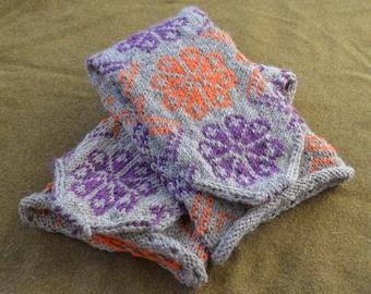 Muk Luk Slipper Knitting Pattern