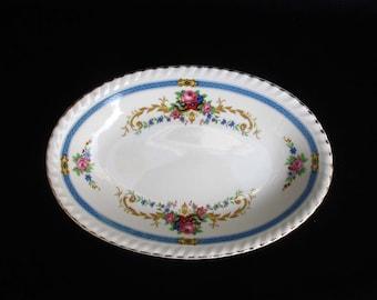Two Floral Sweet Dishes | Johnson Bros | Old English | Fine Bone China | Bon & Johnson bros china | Etsy
