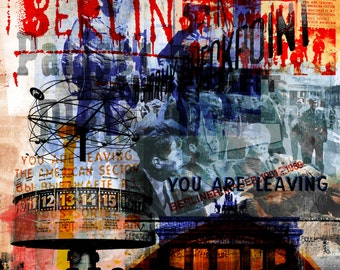 BERLIN ART XX by Sven Pfrommer - Artwork on canvas is ready to hang