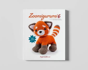 Zoomigurumi 6 - 15 adorable amigurumi crochet patterns in this PDF book
