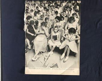 "Vintage ""Prayer for Presley"" Magazine Page"