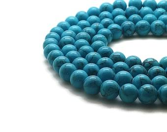 10mm Mashan Jade Beads Turquoise Round 10mm Mashan Jade 10mm Jade Blue Jade 10mm Beads Blue Candy Jade 10mm Blue Beads 10mm Mountain Jade