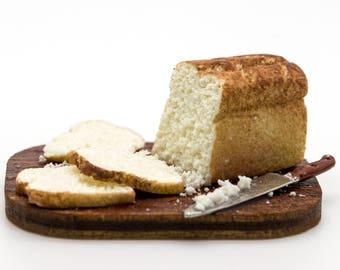 1/12 scale miniature white bread board