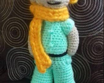 Le Petit Blond crochet.