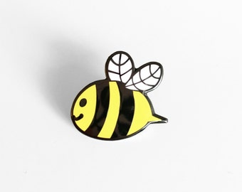 Bee Enamel Pin - Proceeds Will Be Donated To Help Save The Bees