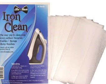Iron Cleaner Cloths - By Bo Nash - BO5003 - Includes 10 sheets