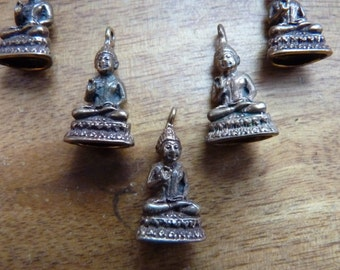 Copper Buddha charms