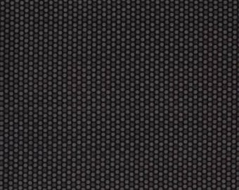 Black and Grey Dot Blender Fabric from Kanvas by Bernartex sold by the half yard Quilt Shop Quality 100% Cotton Scottie Dots