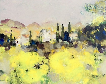 Fine Art Print | Summer in France | From Original | Unframed