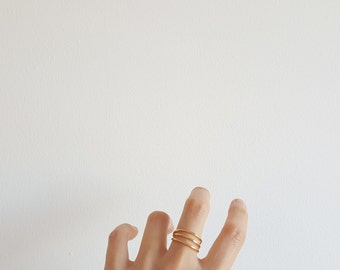 SLIM DOUBLE (or triple) RING