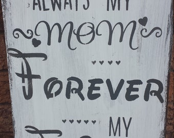 MOTHERS DAY SIGN/Mom Sign for Special Occasions or Just Because/Birthdays