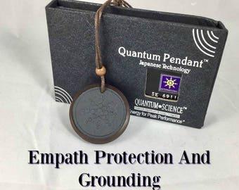 Emapth and Indigo Adult/Children Scalar EMF Protection Grounding Adjustable NecklaceL Clears chakras, Auras, Negative Ion Producer, Unisex