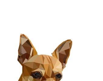 Art Print Chihuahua