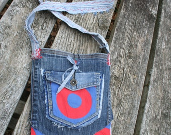 Fishman purse / Phish Fishman bag / Fishman fabric / Phish purse / hippie purse / Fishman handbag / Donut purse / Baker's Dozen bag purse