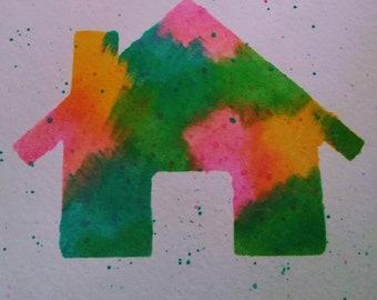 House Card-Customizable