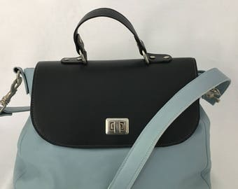 Blue and Navy bag