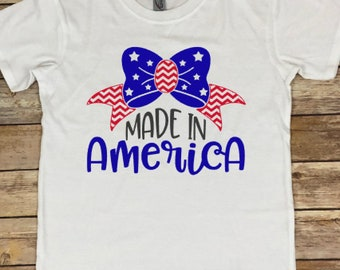 Made In America T-Shirt - Fourth of July Shirt - 4th of July Tee